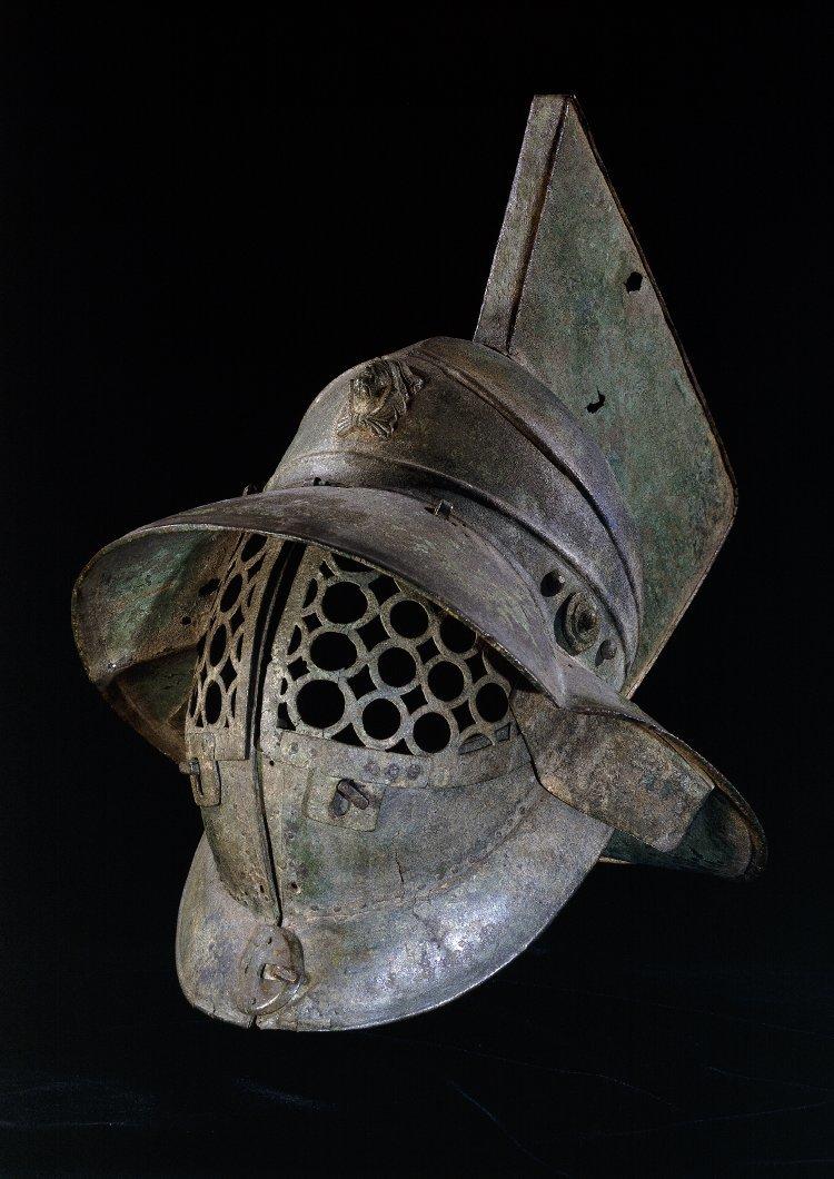 რომაელი გლადიატორის მუზარადი