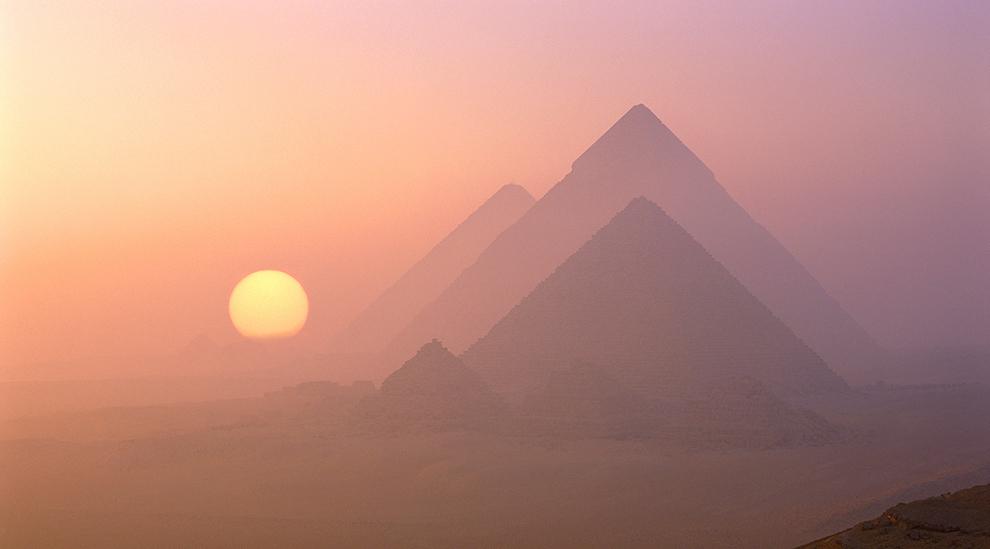 პირამიდები, გიზა, ეგვიპტე